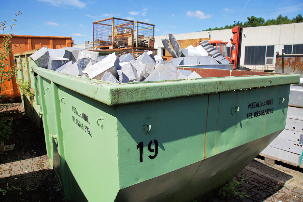 Aluminium Krüger – Container