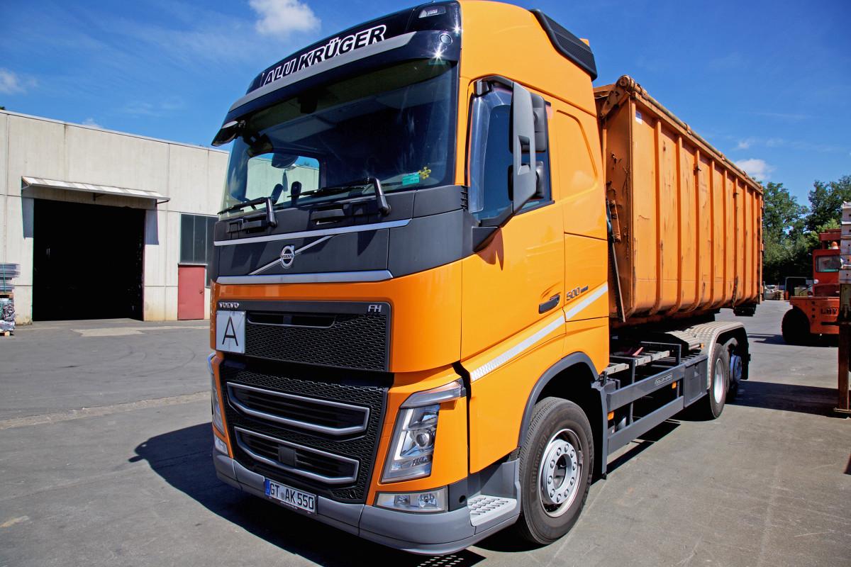 Aluminium Krüger – LKW